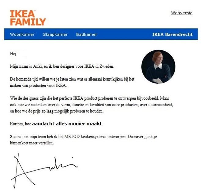 Anki van Ikea