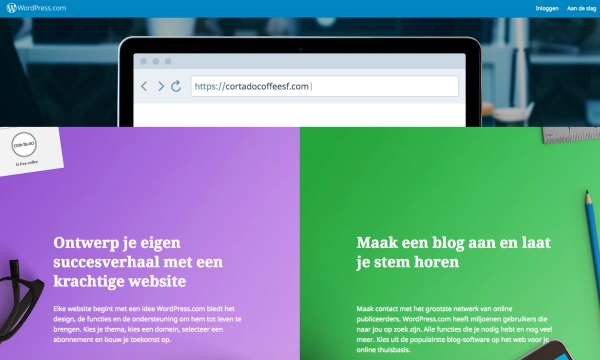 WordPress.com de website