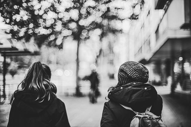 wandering the streets - wandelen in de straten