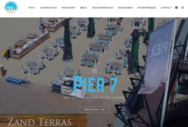 Website van Pier 7