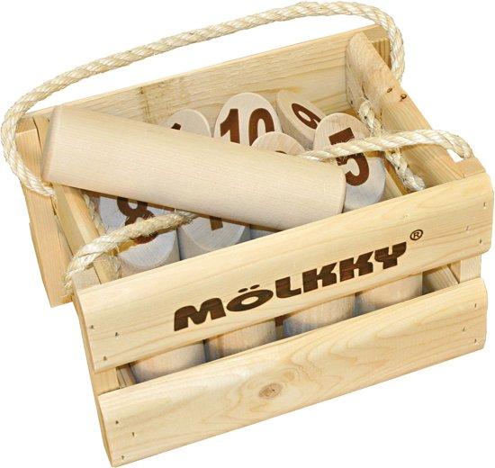 Het spel van hout, Molkky.