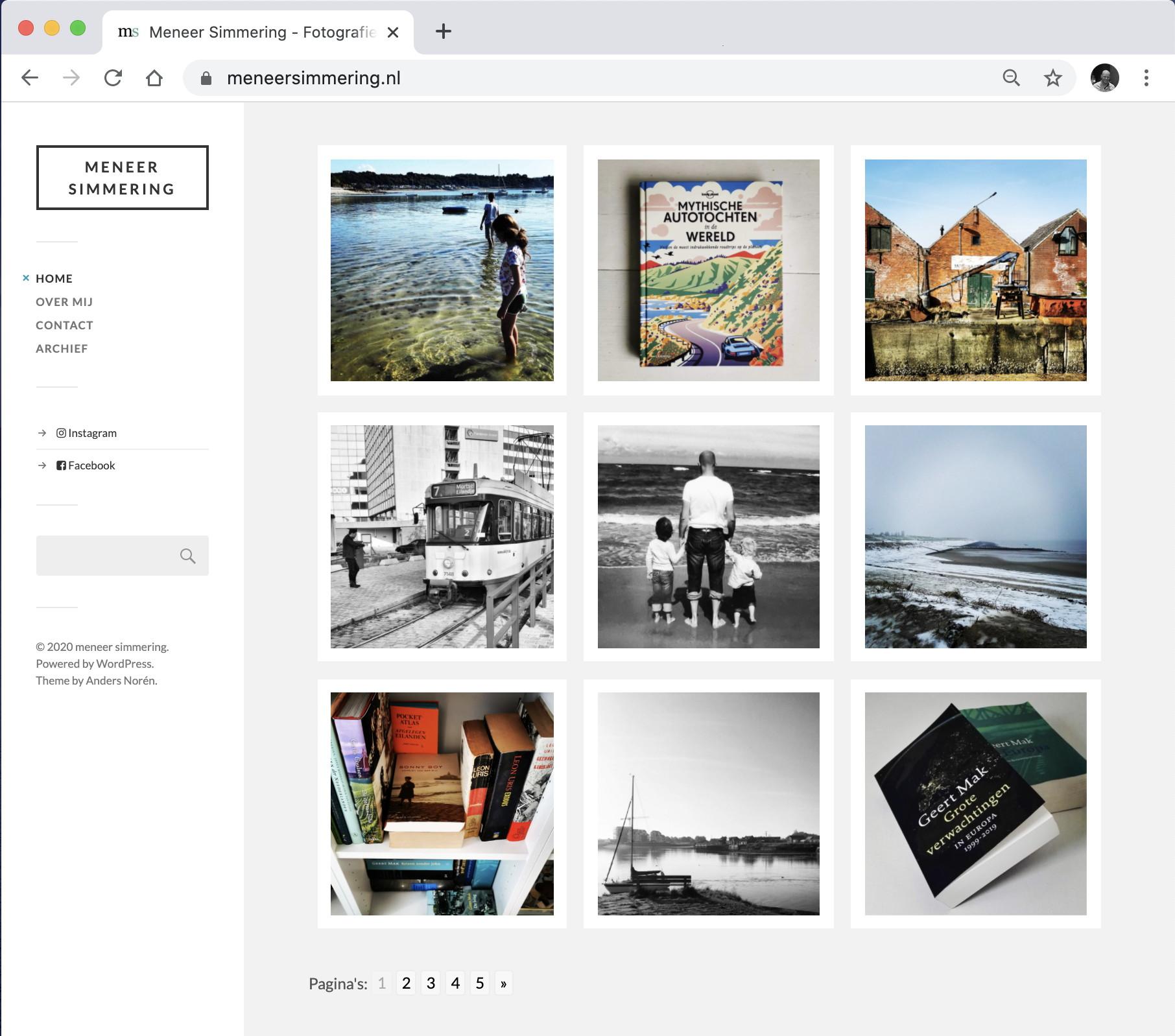 website meneer simmering fotografie en travel blog