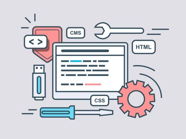 Met HTML en CSS kun je een webpagina maken.