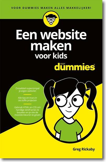 website maken voor kids voor dummies