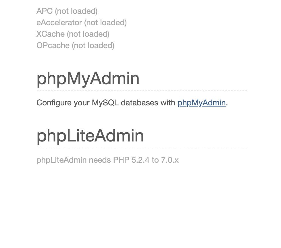 Maak een database aan via PHP MyAdmin