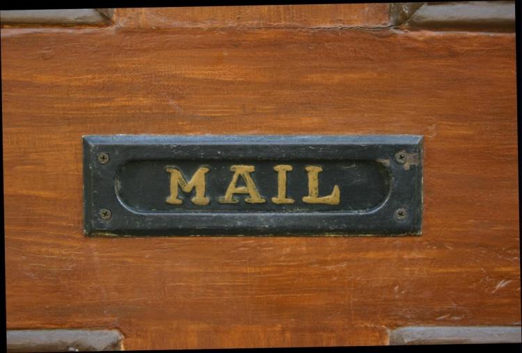 Email bij je blog